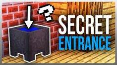 ✔️ 3 SECRET Entrances You NEED to Build! (Tutorials Included) - YouTube