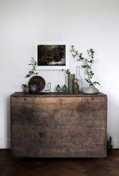 Tips for Creating a Wabi-Sabi Home Buffet, Cabinet, Storage, Furniture, Home Decor, Footlocker, Homemade Home Decor, Sideboard, Home Furniture