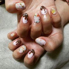 Valentine's Day Nails バレンタインデーネイル。#ドットジェル #dotgel