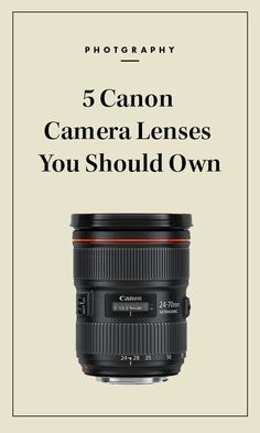 When it comes to shooting striking images, as veteran photographers will affirm, it's not just the camera that matters, the lenses are indispensable too. But with such a wide array of options available, all with significant price tags, it's important to distinguish which lenses are worth the investment.
