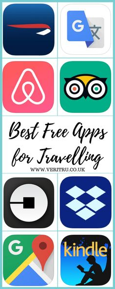 Here's a list of the best free apps for travelling that we love. You'd be silly not to check out this list and make you travelling life easier.