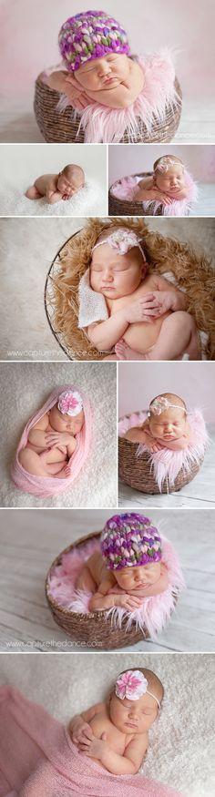 Spring TX newborn photographers | Capture the Dance Photography