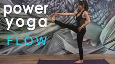 43 Minutes:  Power Yoga Workout ~ Peacefully Present