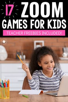 17 Zoom Games for Kids | Are you a teacher and need some ideas to spice up your students learning through Zoom? We have 17 FRESH and FUN ideas for Zoom Games for Kids that your students will be sure to love! Freebies included!