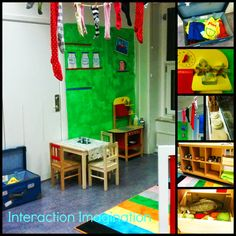 Interaction Imagination: Pippi Longstocking inspired role-play area