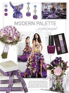 Purple #wedding inspiration from Modern Wedding