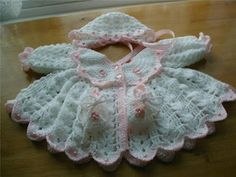 Mary Helen and crochet trico Crafts: bebe dress