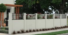 Panelrok is an innovative modular fencing & pillar system ideal for residential boundary fencing. See photos of completed fences in our Gallery. Fence Design, Fencing, See Photo, Garage Doors, Exterior, Gallery, Outdoor Decor, House, Home Decor
