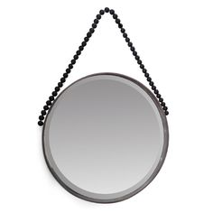 This gorgeous Black Wood Beaded Hanging Mirror from Me & My Trend oozes natural luxe. Bring a relaxed vibe to your living space with this gorgeous classic mirror style. You've got just 2 days to get your Xmas orders in. Be quick! Round Hanging Mirror, Round Mirrors, Beaded Mirror, Black Wood, Living Spaces, Gifts For Her, Wall Decor, Prints, Instagram Posts