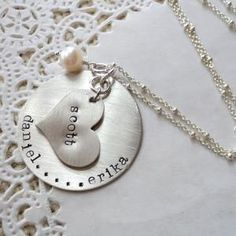 Capture My Heart Necklace...I received this necklace from Nate after our Clare was born.