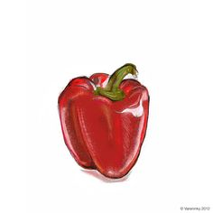 poivron rouge - red-pepper
