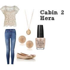 """Cabin 2: Hera"" by skippy-skippers on Polyvore"