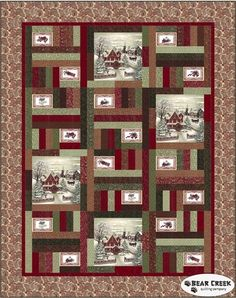 Once Upon A Memory Quilt Kit by Moda - Preorder