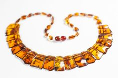 Luxury Baltic amber necklace.Polished amber by LuxuryBalticAmber, $12.99