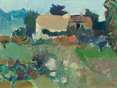 Wim Oepts - A farm in a landscape