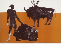 'Corrida Four', 1973 by Dame Elizabeth Frink (English 1930-1993) © Frink Estate