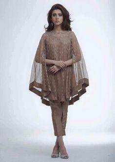 Pakistani cape style