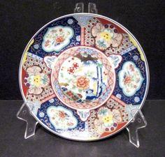 6.25 inch Floral IMARI Ware Plate Japan