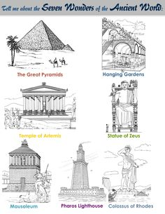 Classical Conversations Cycle 1 Week 4: History-Seven Wonders of the Ancient World