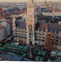 Munich mercadillos de Navidad
