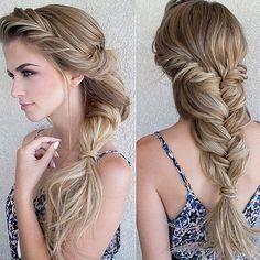 Princess Jasmine braid