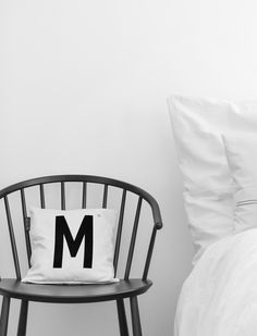 M for Monday! Check this link: http://typehype.eu/covers-pillows #typehypeberlin #bedroom #interiorstyling #pillow #cushion