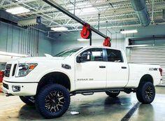 2016 Nissan Titan XD Steps Now Available.  #EzRepost @lex1619 with @ezrepostapp  New Titan XD is ready! #nissan #titanxd #cummins #gato #calminiproducts #nfab #motometal #nitto #6inchlift #diesel #twitter