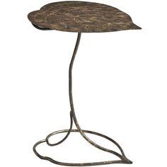 Gild Leaf Accent Table - Pier1 US