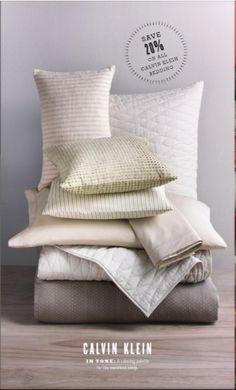 #bedding #pillows