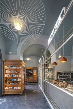 View full picture gallery of I Dolci Di Nonna Vincenza - Catania Bakery Design, Cafe Design, Store Design, Cafe Bar, Cafe Restaurant, Restaurant Design, Cafe Interior, Interior Design, Deco
