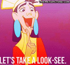 Kuzco meets the Disney Princesses. Best gif ever! hahahaha!!!!!!!