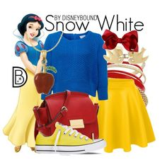 Super cute and comfy looking Snow White DisneyBound outfit! Disney Princess Outfits, Disney Dress Up, Disney Themed Outfits, Disney Bound Outfits, Disney Clothes, Disney Prom, Princess Clothes, Casual Cosplay, Cosplay Outfits