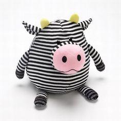 Mushables Pot Bellies Toy Cow Pillow