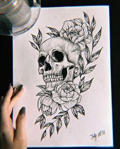ornamental lion tattoo © tattoo artist Ljungberg Tattoo 💕🐵💕🐵💕🐵💕🐵💕 diy tattoo images - tattoo images drawings - tattoo images women - tattoo images vintage - tattoo images ideas - tattoo images men - t Skull Tattoo Flowers, Flower Tattoo Designs, Flower Tattoos, Skull Tattoo Design, Skull Drawing With Flowers, Sketches Of Flowers, Flower Tattoo Drawings, Mini Tattoos, Body Art Tattoos