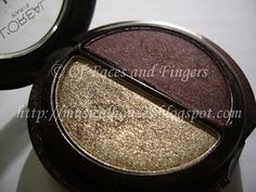 L'Oreal HIP Metallic Duo Electrified 510: Swatches and EOTD