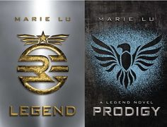 'Legend' Series. These are the first two books and might I say, they are very good. I was forced to read this for my summer reading and then went and bought the others all on my own. They were very good and the layout was interesting.