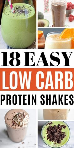 18 Keto Protein Shakes You Gotta Try - This Tiny Blue House Looking for a quick and easy Keto protein shake recipe? Here are 18 delicious and easy keto protein shakes that are a great breakfast, lunch or snack idea. Protein Smoothies, Smoothie Proteine, Protein Lunch, Keto Smoothie Recipes, Healthy Protein Snacks, Protein Shake Recipes, Fruit Smoothies, Strawberry Smoothie, Snacks Recipes