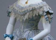 Ball gown, American, 1860 Metropolitan Museum of Art