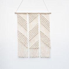 Zig Zag Macrame Wall Hanging by Lekker Project