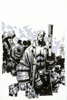 Hellboy by Chris Bachalo