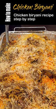Chicken Biryani Recipe Pakistani, Easy Chicken Biryani Recipe, Biryani Chicken, Veg Biryani, Peda Recipe, Masala Recipe, Cucumber Raita Recipe, Indian Food Recipes, Chicken