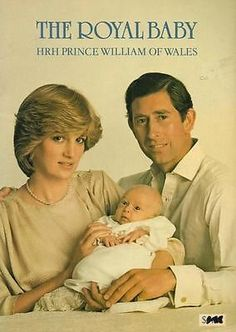 PRINCESS DIANA & PRINCE WILLIAM ROYAL BABY BOOK SOFTCOVER PHOTOS in Collectables, Royalty, Princess Diana | eBay