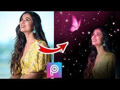 picsart tutorial - YouTube Portrait Background, Love Background Images, Picsart Tutorial, Picsart Edits, Photo Manipulation, Glow, Butterfly, Dark, Youtube