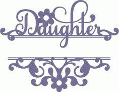 SPLIT DAUGHTER