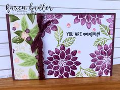 Recently I watched this Swipe Technique that Linda Dalke posted and had to go straight to my craft room to give it a go :-) I was inspired with a card lay out from Jacque Williams and am really ple… Fresh Figs, Bees, Stamping, Card Making, Paper Crafts, Layout, Colours, Ink, My Love