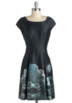 Moonlight the Way Dress, Eva Franco #ModCloth