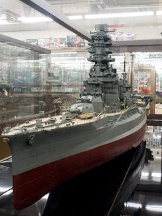 """IJN Battleship-Carrier """"Ise"""" 1/100 scale Model in Museum quality finish. 日本海軍航空戦艦-伊勢"""