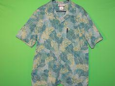 #Columbia #Mens #XL #ExtraLarge #ShortSleeve #Hawaiian #Tropical #Shirt #FREEShipping #Clothing #Fashion