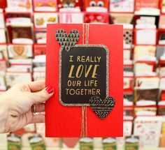 Give a card that perfectly expresses what you want to say this Valentine's Day! There are some darling ones at @Walgreens! #HallmarkAtWalgreens #CareEnough #ad