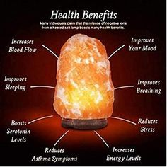 Hiit Workout Routine, Holistic Healing, Natural Healing, Food Network, Himalayan Rock Salt Lamp, Himalayan Salt Benefits, Natural Health Remedies, Health And Wellness, Crystals